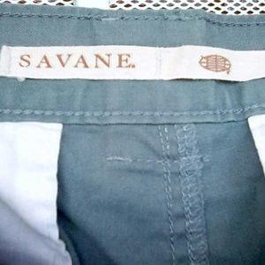 Savane Shorts - Savane Balsam Green Cargo Shorts W34